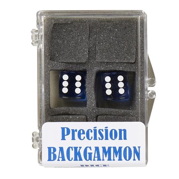 Image of   Backgammon Præcisionsterninger 12mm