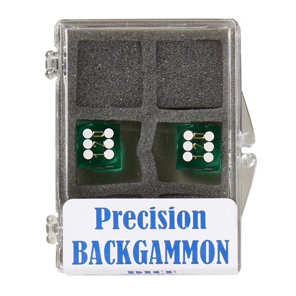 Image of   Backgammon Præcisionsterninger 12mm