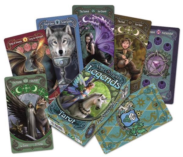 Image of   Anne Stokes Legends Tarot
