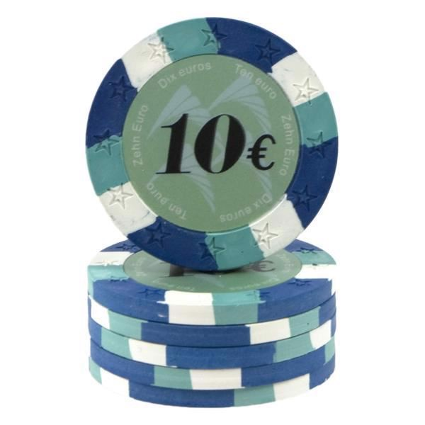 Image of   12 Star Clay 10 Euro