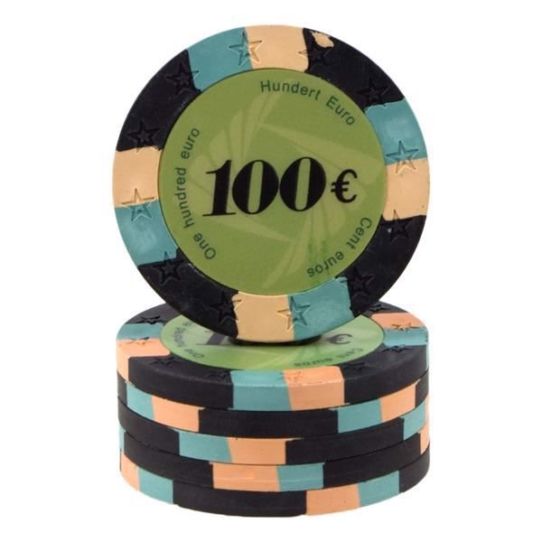 Image of   12 Star Clay 100 Euro