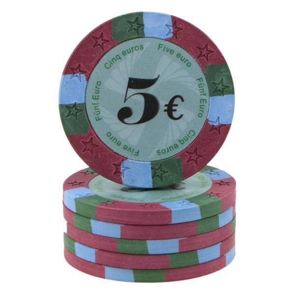 Image of   12 Star Clay 5 Euro