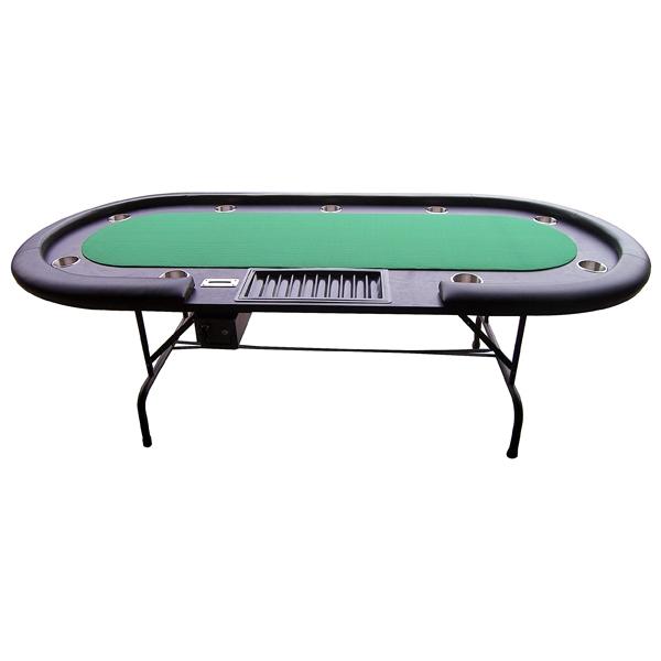 Image of   Pokerbord XL m. Dealer plads - Grøn