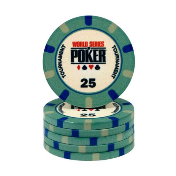 Image of   WSOP Ceramic 25
