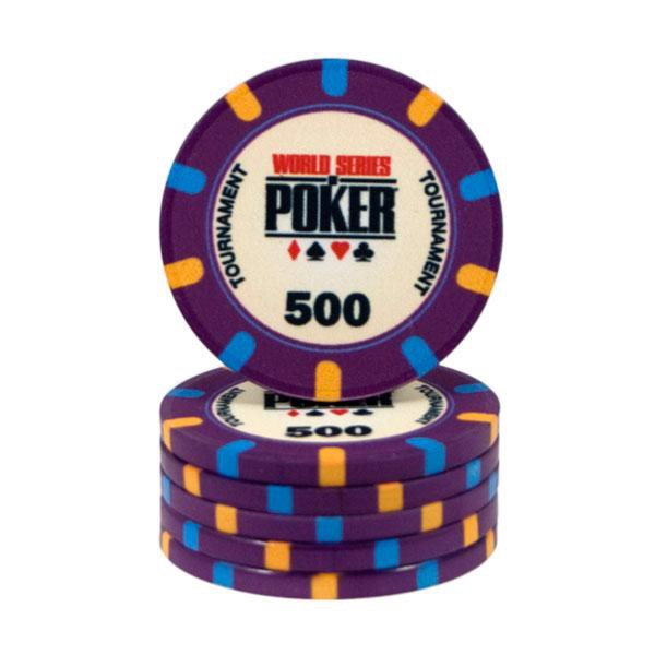 Image of   WSOP Ceramic 500