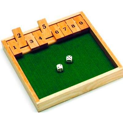 Image of   Shut The Box - 1 spiller