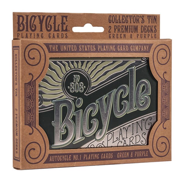 Image of   Bicycle Retro Tin Box Collector