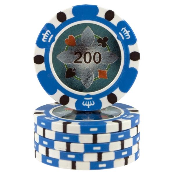 Crown Casino 14,5 gram - Lyseblå 200