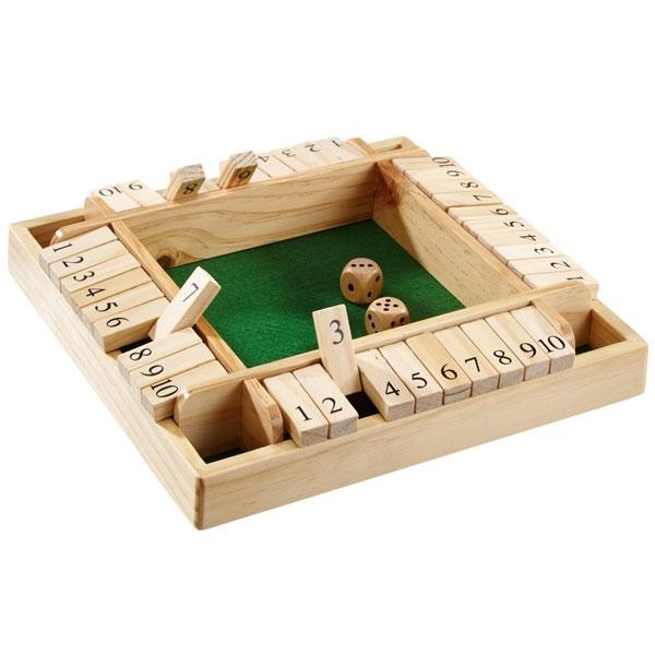 Image of   Shut The Box - 4 spillere