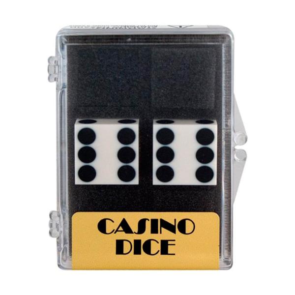 Image of   2 stk. Casino Præcisionsterninger