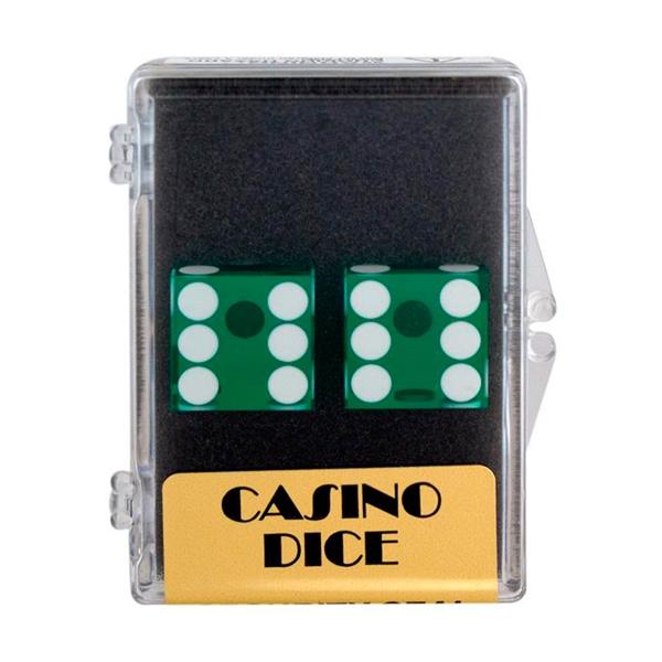 2 stk. Casino Præcisionsterninger