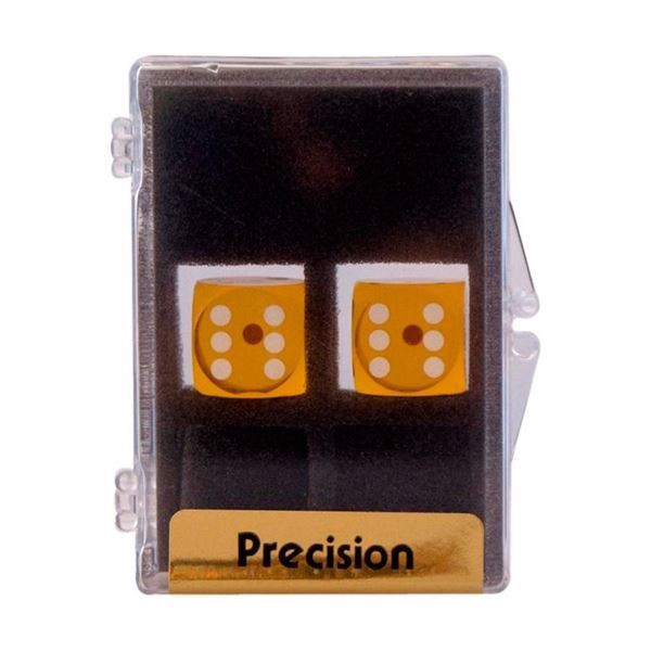 Image of 2 stk. Backgammon Præcisionsterninger