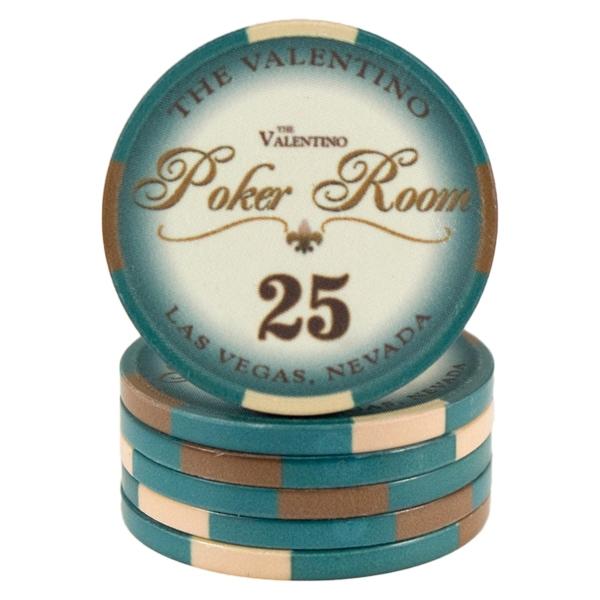 Valentino Poker Room Grøn 25